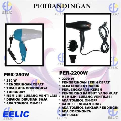 Home  EELIC PER-W2200 Alat Pengering Rambut Profesional Hair Dryer Daya  2200 WATT Dengan 5ffa4ef142