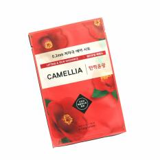 Etude House Theraphy Air Face Mask Lifting & Skin Radiance Camellia - 1 Pcs