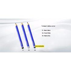 Eye Liner Pencil Inez 03 Alaska - Paket 2Pcs