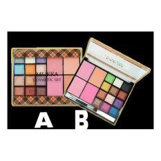 Eye Shadow Palet M*kka 12 warna + Blush On 4 warna