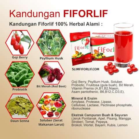 Fiforlif Herbal Alami Diet Detox Libas Buncit Hancurkan Lemak 5