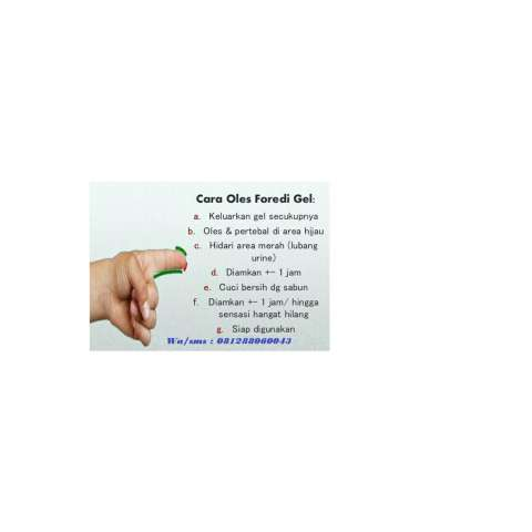 Foredi Original Solusi Edi Aman Legal tanpa efek samping 100% herbal 2