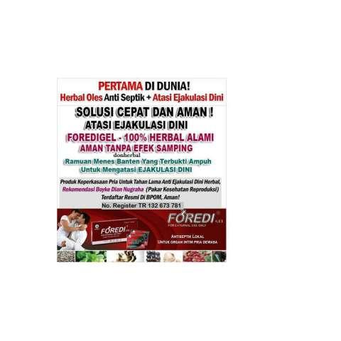 Foredi Original Solusi Edi Aman Legal tanpa efek samping 100% herbal 3