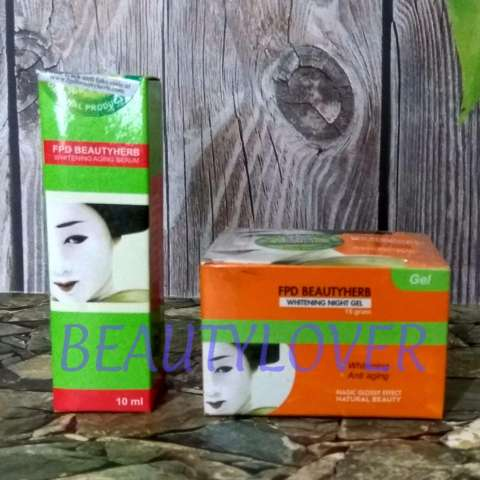 Fitur Fpd Beauty Herbal Day Cream Night Cream Serum Paket Magic Source · Fpd Beauty Herb Night Cream dan Serum Cream Malam Magic Glossy dan Vege Serum