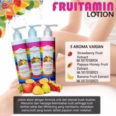 Fruitamin Lotion BPOM Mencerahkan badan dengan mudah dan cepat