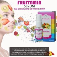 Fruitamin Serum BPOM Melembabkan, Mencerahkan dan Anti Aging 20ml