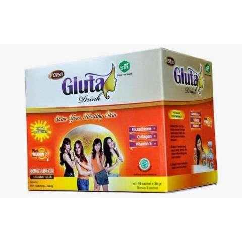 Gluta Drink Susu Nutrisi Pelangsing Dan Kecantikan Kulit Rasa Anggur Original - 250gr