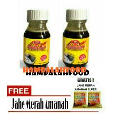Hamdalahfood - 2 Botol Ath Thoifah Madu Diet 100% Murni Madu + Jahe Amanah
