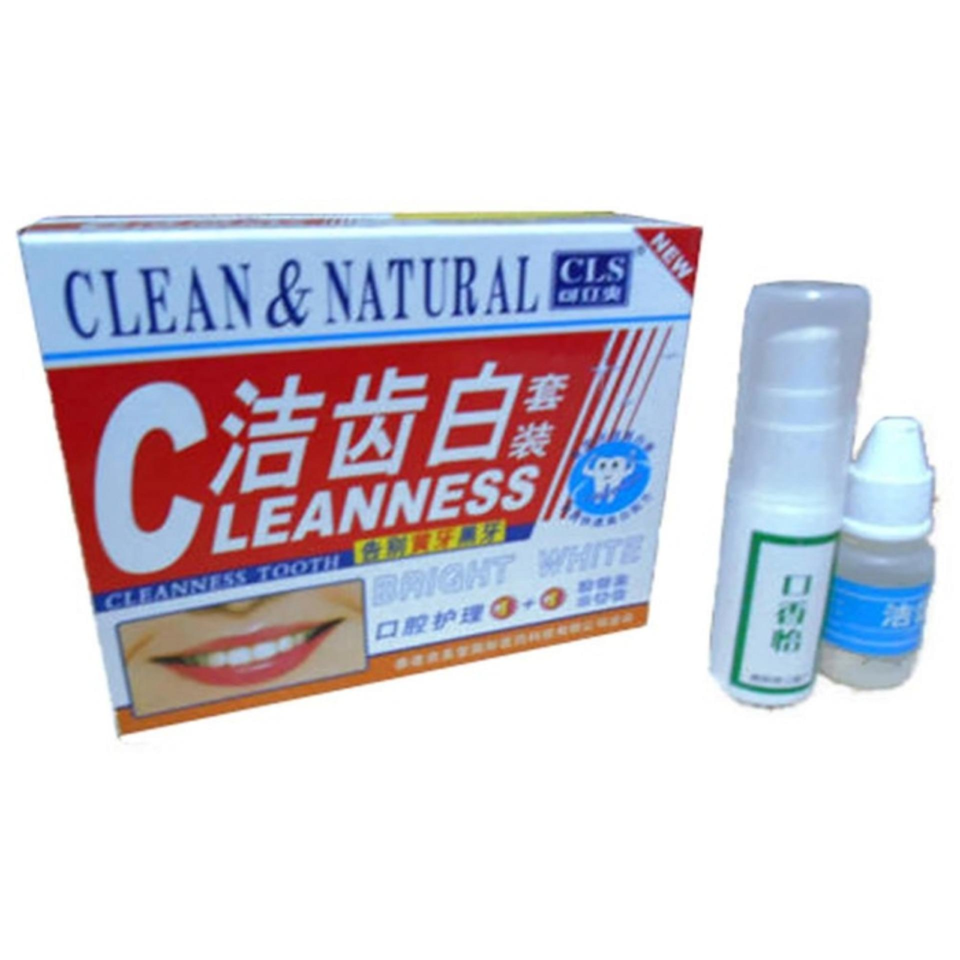 Produk Herbal Pemutih Gigi Dan Pembersih Karang Gigi Clean And