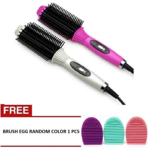 ION - Styling Curler 318 Hair Styling Comb - Catok Sisir Panas Pelurus Rambut Profesional 318