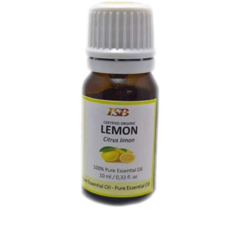 ISB - Organic Lemon Essential Oil - 10ml