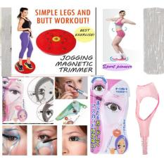 Jogging Magnetic Trimmer Body Plate + Mascara Helper - Alat Bantu Maskara