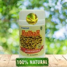 Kapsul Hulbah Fenugreek Herbal Melancarkan ASI