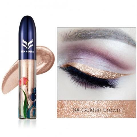 Home; Kecantikan Yang Tahan Lama Kosmetik Mengkilap Eye Liner Pensil Cairan Glitter Pena Pensil Mata