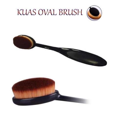 Lucky Kuas Oval Brush Foundation Brush Kuas Foundation