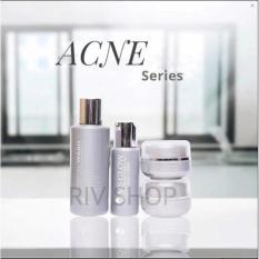MS Glow Acne Series 100% Original / Paket perawatan wajah berjerawat msglow / untuk kulit jerawat