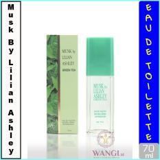 MUSK BY LILIAN ASHLEY 70ML : GREEN TEA PARFUM ORIGINAL UNTUK WANITA MURAH BERKUALITAS