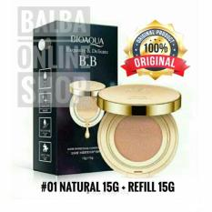 [NATURAL COLOUR] Bioaqua Gold Cream BB Liquid Cushion + Refill 15g