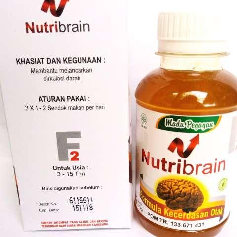Nutri Brain F1 Formula Kecerdasan Otak Ekstra Albumin 45 Gram Source · NUTRI BRAIN suplemen otak