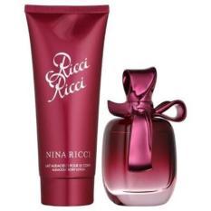 Original Parfum Gift Set Nina Ricci Ricci Ricci 80Ml Edp
