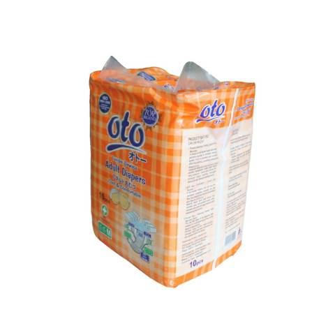 Harga Oto Adult Diapers Popok Dewasa Ukuran M Isi 10 X Putih Harga Rp 52.900