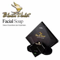 [Paket 1 Box isi 3 Pcs] Sabun Black Walet Soap Pemutih Wajah dan Pembersih Jerawat CV Rajawali