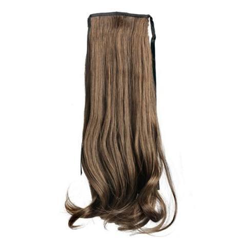 Home; PALIGHT Wanita Long Curly Bergelombang Ekor Kuda Pony Wig Rambut Sopak Ekstensi-Intl