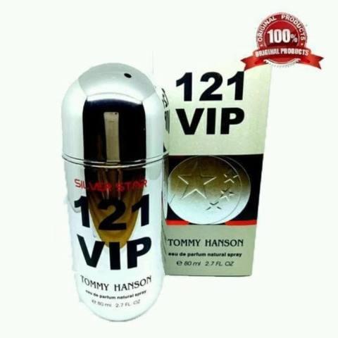 PARFUM Tommy Hanson 121 VIP - SILVER STAR - 80 ML