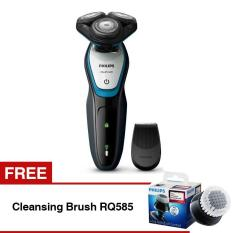 Philips Aquatouch Shaver S5070 FREE Cleansing Brush RQ585