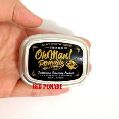 POMADE OH MAN! OHMAN BABY MYSTIC GOLD MINI SIZE 45 GRAM WAX BASED OILBASED OIL BASED + FREE SISIR