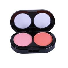 Professional 2 Colors Cosmetic Contour Face Powder Makeup Blush Blusher Palette