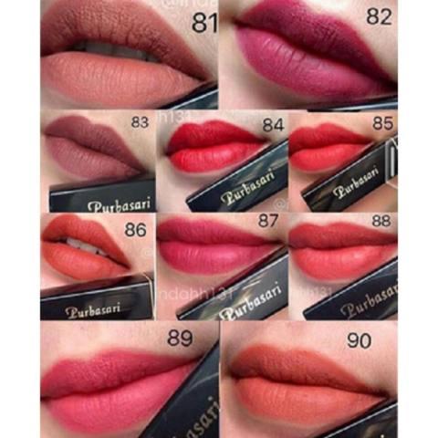Purbasari Paket Lipstick Color Matte No. 89 Free Implora Pensil Alis Coklat BPOM - Original