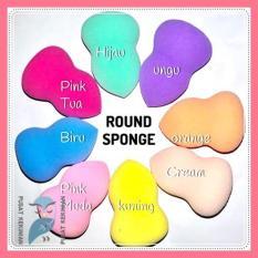 [Pusat Kekinian] Rounded Beauty Blender Sponge / Blending Sponge / VOV/ Spon Make Up/ Beauty Spon
