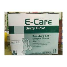 Sarung Tangan Steril 6-5 E-CARE