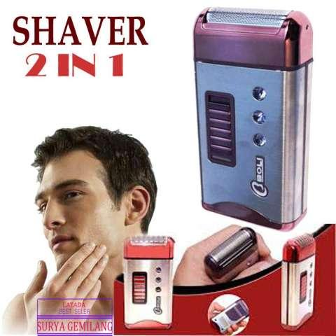 Shaver Charger RSCW 6008 Alat cukur Kumis dan Jenggot 2 IN1