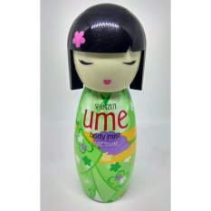 Shinzui - Body Mist Hatsune Hijau - 100ml