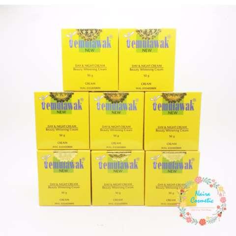Temulawak Cream Original Malaysia 8 Pcs [ HARGA PROMO ]