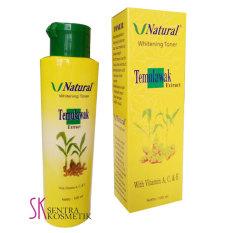 Temulawak Whitening Toner V Natural - 100 ml