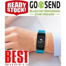 TensiMeter Digital Smart Watch Tensi Meter Digital Tangan Alat Ukur tekanan Darah Denyut Jantung Pedometer Penghitung Langkah Pengukur Kalori SMART WATCH BEST MODEL