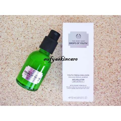 The Body Shop Drops Of Youth Emulsion Spf 20 PA+++