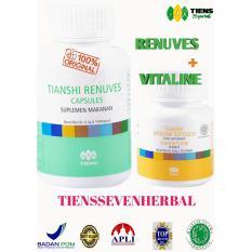 Tiens PAKET PEMUTIH BADAN BASIC - Vitaline - Renuves - Tianshi Ori Herbal Whitening Skin - Pencerah Kulit - Mata Minus