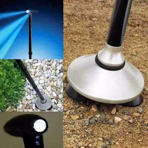 Tongkat Lipat / Tongkat Jalan Dengan Lampu LED / Magic Cane