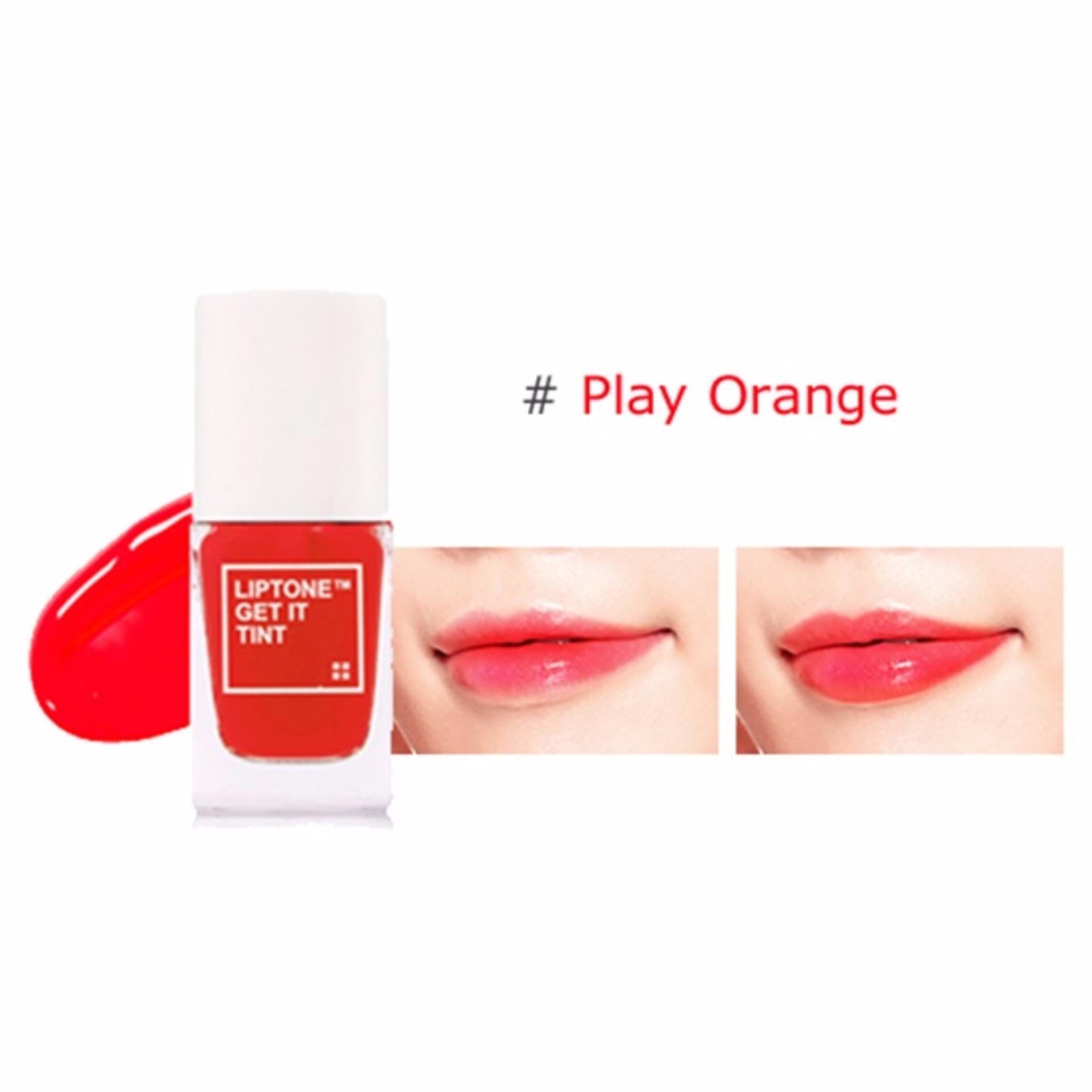 Produk Promo Kim Shop Tonymoly Delight Tint Lip Mini Size Tony Moly Liptint Liptone Get It 03 Play Orange Original 1 Buah