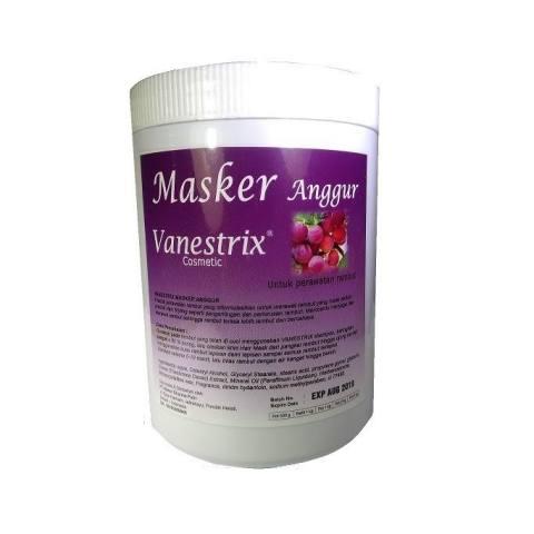 Vanestrix Masker Rambut Pot Aroma Anggur - 1 Kg
