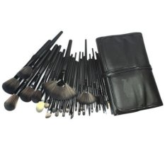 Kuas Cosmetic Professional Make Up Brushes Set Mimimo Kosmetik MakeUp Brush - 32 pc- Hitam
