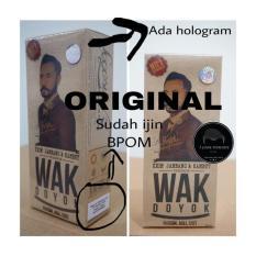 Wakdoyok Cream Penumbuh Jambang/Rambut BPOM