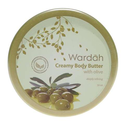 Wardah Body Butter Olive 50 ml Body Lotion