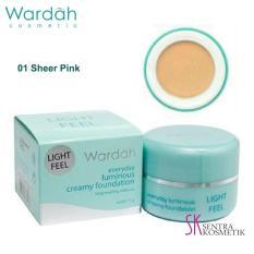 Wardah Everyday Luminous Creamy Foundation 01 - Sheer Pink