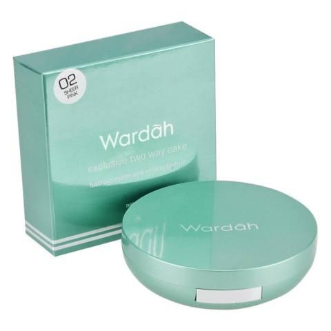 Wardah Exclusive Two Way Cake 02 Sheer Pink