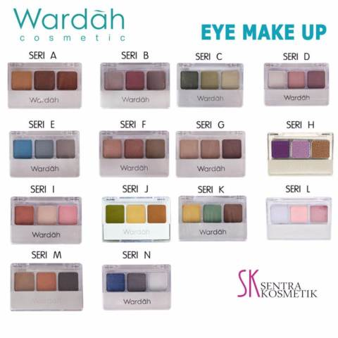 Wardah EyeShadow - B